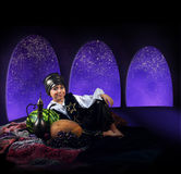 Arabian magic night Stock Photography
