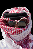 Arabian man. Wears typical oriental clothes Royalty Free Stock Photos