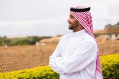 Arabian man looking away Royalty Free Stock Photography
