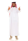 Arabian man thumbs up Stock Image