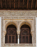 Arabian medieval architecture Stock Photo