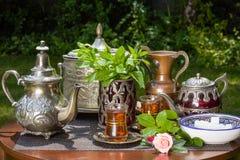Arabian mint tea Stock Photos