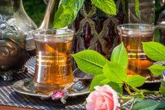Arabian mint tea Stock Image