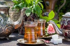 Arabian mint tea Royalty Free Stock Photo