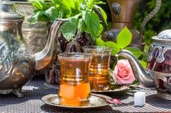 Arabian mint tea Stock Photo