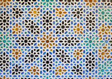 Arabian mosaic Royalty Free Stock Images