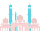 Arabian Mosque Royalty Free Stock Image
