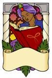 Arabian Nights Bookplate Stock Photo