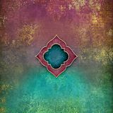 Arabian Nights - vibrant grunge background and centrepiece
