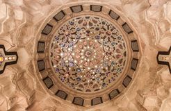 Arabian Oriental Artistic Ornamental carvings Royalty Free Stock Image