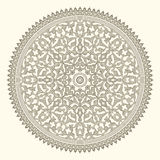Arabian ornament. Background with a seamless ornament in the Arabian style Stock Images