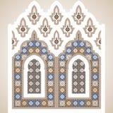 Arabian ornament vector illustration Stock Photography