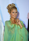 An arabian Paris Hilton at BFF conference in Dubai royalty free stock photo
