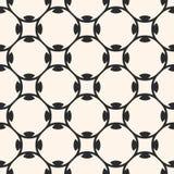 Arabian pattern. Geometric lattice, floral shapes. Vector seamless pattern. Monochrome abstract geometric texture Stock Photos