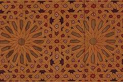 Arabian pattern. Oriental arabian pattern of mosque ceilling royalty free stock photo