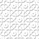Arabian pattern 212 Royalty Free Stock Images
