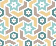 Arabian pattern. Vector seamless pattern in classic arabian style, EPS10 Stock Photo