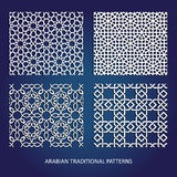 Arabian patterns Royalty Free Stock Image