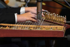 Arabian Qanon Musical Instrument Royalty Free Stock Photos