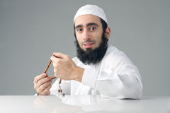 Arabian religious muslim man Stock Photography