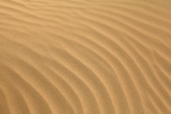 Arabian sand ripples Royalty Free Stock Photo
