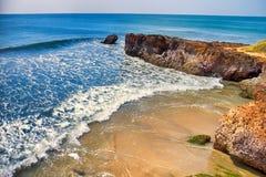 Arabian Sea i Kerala royaltyfri fotografi