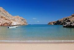 Arabian Sea Oman royaltyfri fotografi