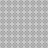 Arabian seamless net pattern Royalty Free Stock Photos