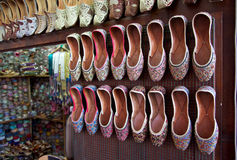 Arabian Shoes Stock Image