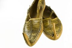 Arabian shoes Royalty Free Stock Photos