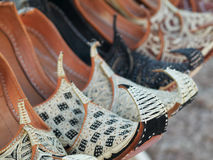 Arabian shoes Stock Images
