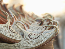 Arabian shoes Royalty Free Stock Image