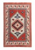 Arabian silk carpet. On white background royalty free stock images