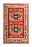 Arabian silk carpet. On white background royalty free stock image