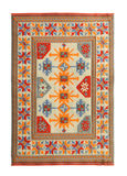 Arabian silk carpet Stock Image