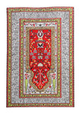 Arabian silk carpet Royalty Free Stock Photo