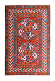 Arabian silk carpet Stock Photos