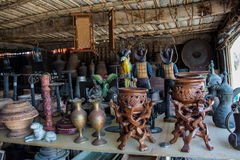 Arabian souvenirs shop Royalty Free Stock Image