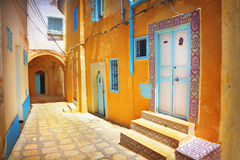 Arabian street Stock Photo