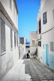 Arabian street Stock Image
