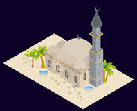 Arabian style artistic building. Royalty Free Stock Photography