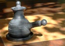 Arabian style coffee pot. Royalty Free Stock Photo