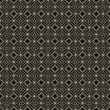 Arabian style gold luxury seamless pattern Stock Photography