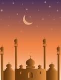 Arabian style mosque Islamic background Stock Image