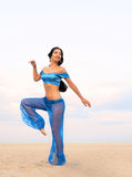 Arabian style portrait of a dancing girl Stock Image