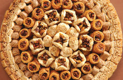 Arabian sweets Stock Image
