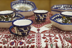 Arabian tablewares Stock Photos