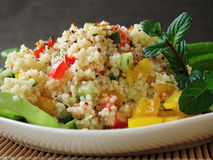Arabian tabouleh dish with couscous Royalty Free Stock Photography