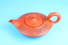 Arabian teapot with ornament Stock Images