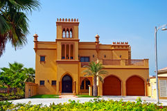 Arabian Villa. A modern villa on the Palm Jumeirah in Dubai Stock Photos